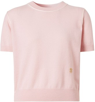 Burberry Monogram motif knitted T-shirt