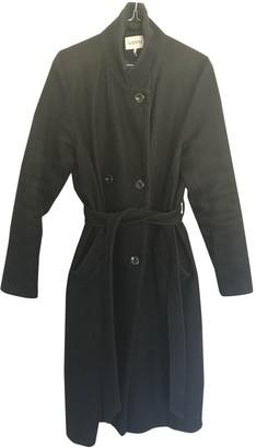 Ganni Blue Wool Coats