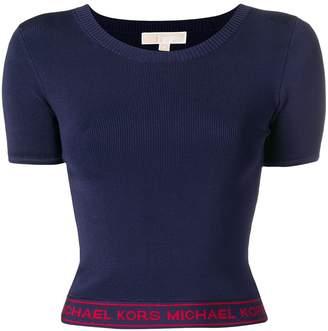 MICHAEL Michael Kors fitted logo T-shirt