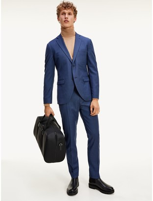 Tommy Hilfiger Slim Fit TH Flex Wool Suit