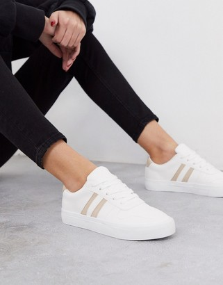 London Rebel lace up trainers