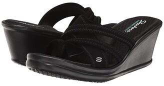 Skechers Rumblers Young At Heart (Black) Women's Sandals