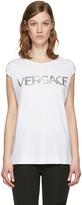 Versace White Muscle T-shirt
