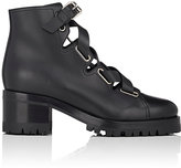 Valentino Women's Leather Lace-Up Biker Boots