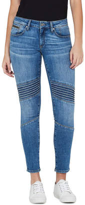 Mavi Jeans Aura Mid Rise Skinny Ankle Biker