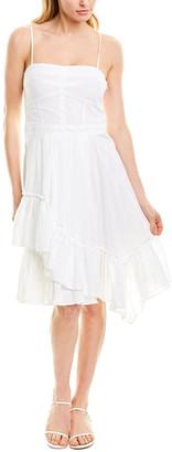 Derek Lam 10 Crosby Asymmetrical Hem Cami Dress