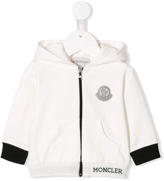 Moncler animal ears zip hoodie