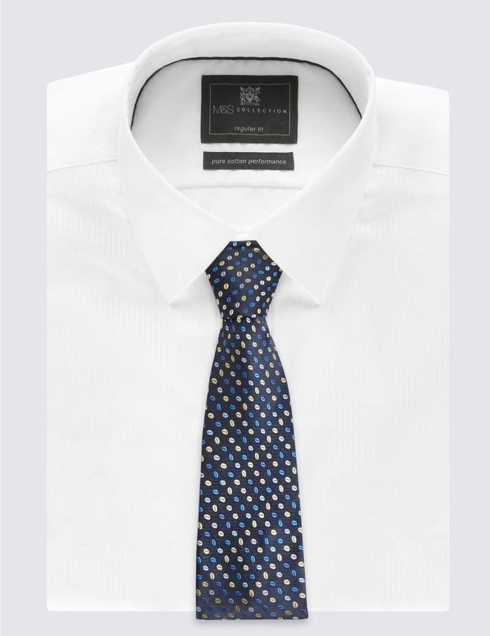 Marks and Spencer 2 Pack Spotted & Striped Ties