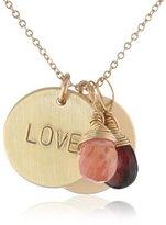 Nashelle Identity 'Love' Inspiration Charm Necklace