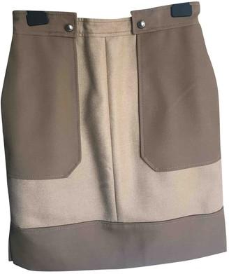 Bally Beige Wool Skirts