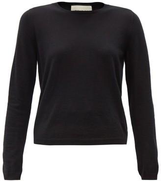 Gucci Logo-embroidered Cashmere Sweater - Black