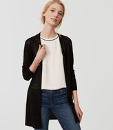 LOFT Fine Knit Open Cardigan