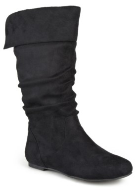 Journee Collection Shelley-3 Wide Calf Boot