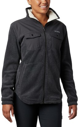 Columbia Benton Springs Overlay Full-Zip Fleece Jacket - Women's