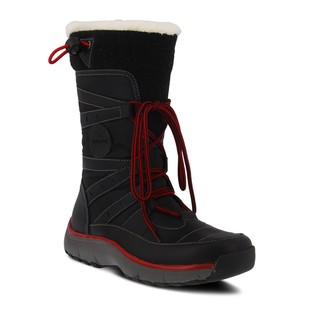 Spring Step Leather Hiker-Inspired Boots - Brurr