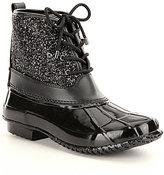 Gianni Bini Stormie Glitter Duck Boots