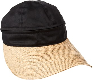 Gottex Women's Regatta Zip Off Crown Convertible Sun Cap with Large Peak Visor