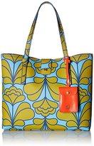 Orla Kiely Damask Flower Textured Vinyl Tillie Bag