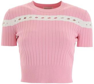 Alexander McQueen Short-sleeved Knit