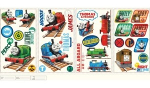 York Wall Coverings York Wallcoverings Thomas The Tank Engine Peel and Stick Wall Decals