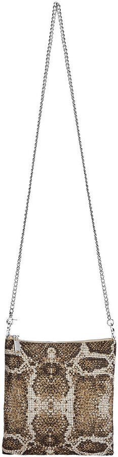Thumbnail for your product : Whiting & Davis Python Convertible Crossbody Bag