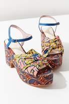 Charlotte Stone Ariane Printed Platform Sandal