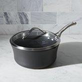 Crate & Barrel Calphalon Contemporary TM Non-Stick 3.5 qt. Pour & Strain Saucepan