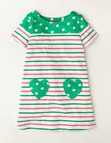Boden Summer Heart Pocket Dress