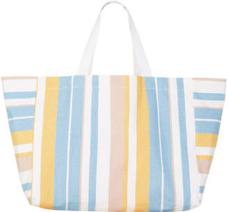 Seafolly Striped Slouchy Beach Tote Bag
