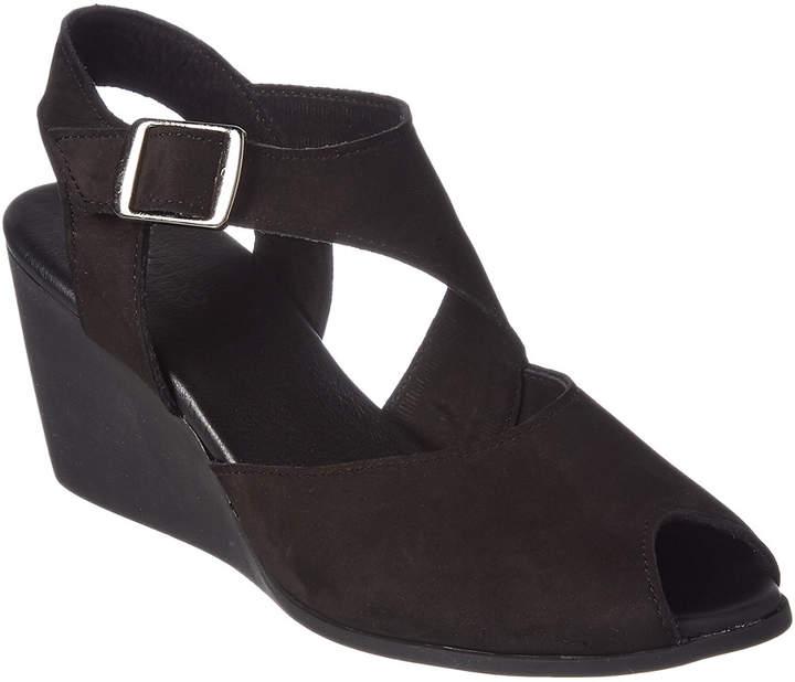 Arche Egwaro Nubuck Wedge Sandal
