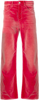 Golden Goose Deluxe Brand straight-leg fitted trousers