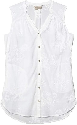 Royal Robbins Oasis Tank Top (White) Women's Clothing