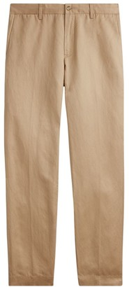 Polo Ralph Lauren Straight Fit Linen-Blend Pants