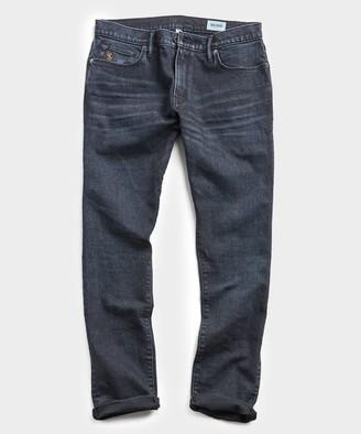 Todd Snyder Slim Fit Black Ink Wash Denim Jean