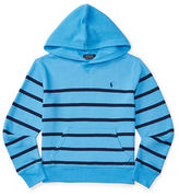 Ralph Lauren Boys 8-20 Cotton Striped Hoodie