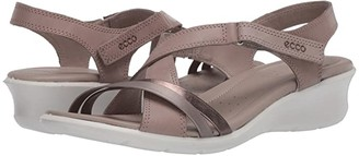 Ecco Felicia Sandal (Cashmere/Bronze/Bronze Cow Leather) Women's Sandals