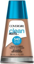 Cover Girl Clean Oil Control Liquid Makeup, Natural Beige, N 540, 1.0-Ounce Bottles