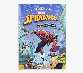 Pottery Barn Kids Spider-Man Beginnings Personalized Marvel Storybook