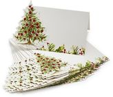 Sur La Table Holly and Pine Place Cards, Set of 12