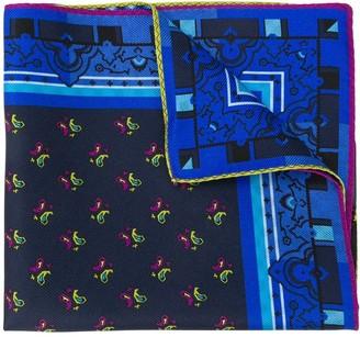 Etro Paisley Print Handkerchief