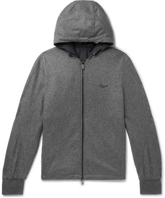 Ermenegildo Zegna Reversible Cashmere-Jersey And Shell Hooded Jacket