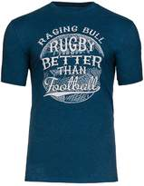 Men's Raging Bull Big and Tall Football T-Shirt
