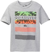 Quiksilver Line Up Graphic Tee (Big Boys)
