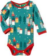 Little Green Radicals Sleepy Village Bodysuit (Baby) - Multicolor-0-3 Months
