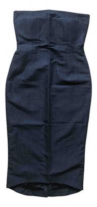 Ann Sofie Back Ann-sofie Back Black Cotton - elasthane Dresses