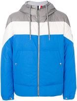 Moncler Gamme Bleu contrast padded jacket