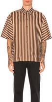 Lanvin Oversize Short Sleeve Shirt