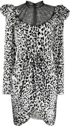 Giambattista Valli Leopard-Print Dress