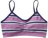 Maidenform Girls 6-16 Seamless Ruched Striped Crop Bra