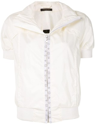 Louis Vuitton Zip-Up Short Sleeve Jacket